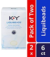 From the #1 Doctor recommended personal lubricant brand, K-Y Liquibeads Vaginal Moisturizer lubricant feels like your own natural moisture and allows you the freedom to be spontaneous! K-Y Liquibeads Vaginal Moisturizer come in an ovule inser...