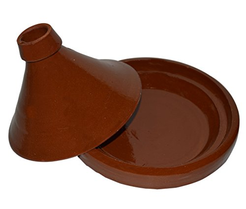 Moroccan Cooking Simple Small Tagine Lead Free by Cooking Tagines