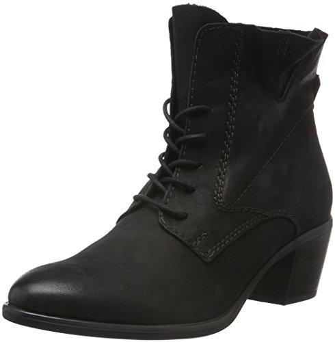 Tamaris 25125 - Botas de cuero para mujer Negro (BLACK 001)