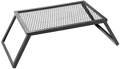 Sunnydaze Camping and Patio Folding Portable Cooking Grill Grate