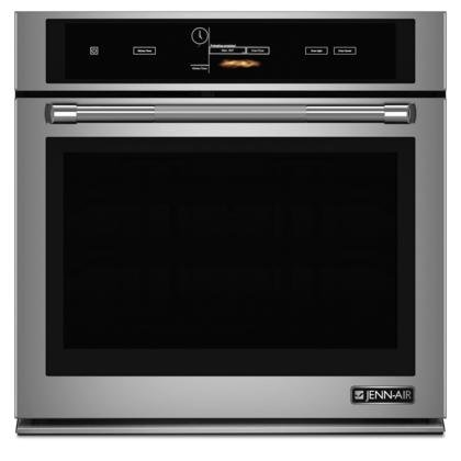 Jenn-Air JJW3430DP 30'' Single Wall Oven with V2 Vertical Dual-Fan Convection System 5 cu. ft. Capacity Soft Auto Close Door Wi-Fi Connectivity and Halogen Interior Lighting in Stainless by Jenn-Air