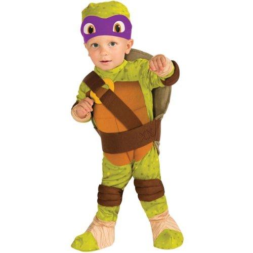 Nickelodeon Ninja Turtles Donatello Romper Shell and Headpiece, Green, Infant