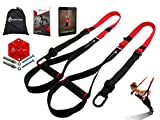 INTENT SPORTS Complete Bodyweight Fitness Resistance Trainer KIT Plus Intent Mount, Professional Quality, for Home Gym, Pro Straps, Build Lean Muscle, Core Strength with E-Book and 77 Workout Videos
