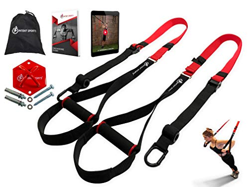 INTENT SPORTS Complete Bodyweight Fitness Resistance Trainer KIT Plus Intent