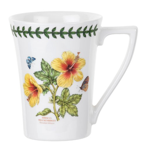 Portmeirion Exotic Botanic Garden Mandarin Mug, Set of 6 Assorted Motifs by Portmeirion