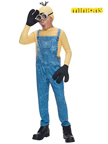 Kevin The Minion Child Costumes (Rubie's Costume Minions Kevin Child Costume, Medium)