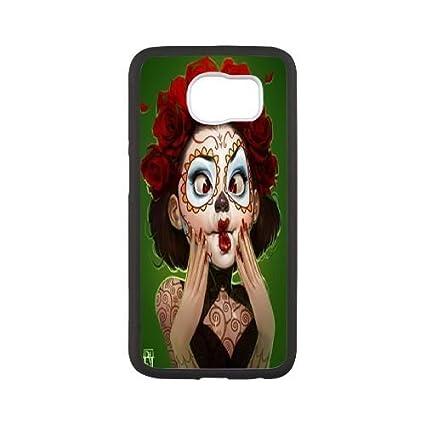 samsung s6 skull phone case