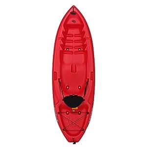 Emotion 90244 Spitfire Sit-On-Top 8 Foot Kayak, Red