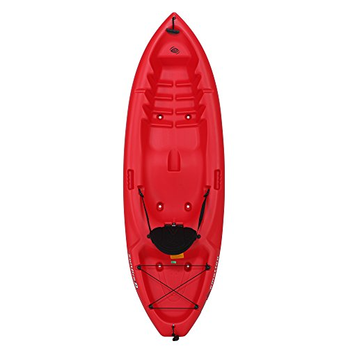 Emotion 90244 Spitfire Sit-On-Top 8 Foot Kayak, Red