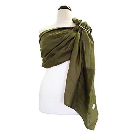 myheartcreative Ring Sling - Olive Green