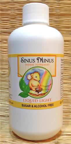 Sinus Minus (8 oz Bottle) - Dry up Sinuses, Sinusitis, Nasal Inflammation Clearing, Allergy, Cold Season Support.