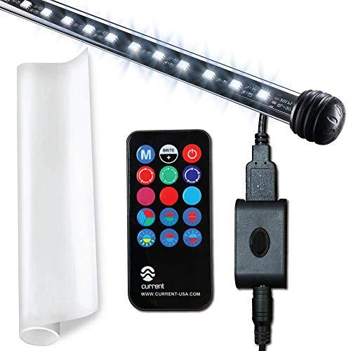 CURRENT USA Serene Aquarium Visual and Audio Aquatic Experience Kit   LED Background Light (48)