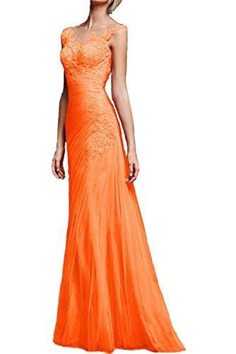Lang Ivydressing Abendkleider Traeger Neu Meerjungfrau Orange Promkleider Partykleider Spitze Glamour rnWxr5XT8