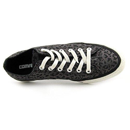 Converseer De Chuck Taylor All Star Side Zip Edge Sneaker Black Leopard