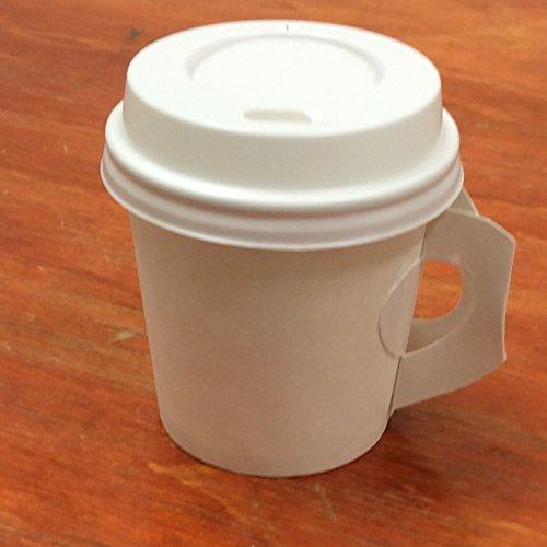 4 oz styrofoam cups with lids - 3