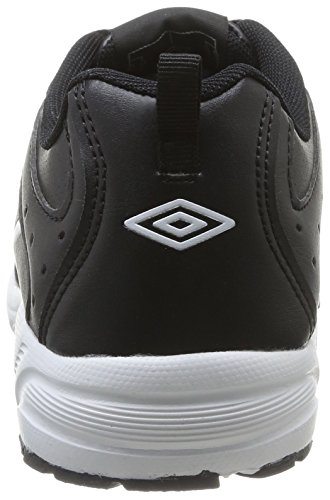 Umbro Moston - Zapatillas de Deporte de material sintético hombre negro - Noir (202-Noir/Blanc)