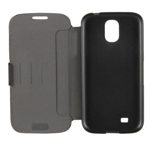 Belkin Leather Wallet Folio Protection Case /w Stand for Samsung Galaxy S4 (Black)