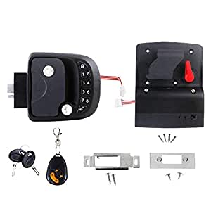 Keyless Entry Door Lock Latch Handle Knob Deadbolt RV