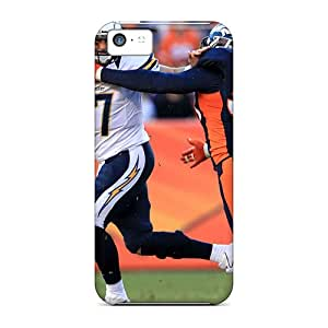 New VItYdnJ606AOVEv Von Miller Broncos Sack Skin Case Cover Shatterproof Case For Iphone 5c
