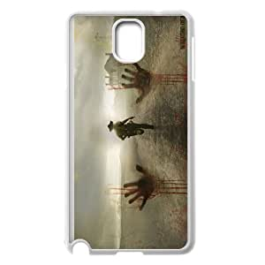High Quality Phone Back Case Pattern Design 8Popular Movie the walking dead Design- For Samsung Galaxy NOTE4 Case Cover