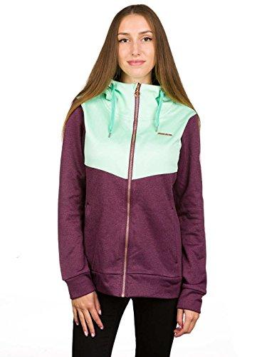 Zimtstern–Forro polar Jacket Izabelle lila/mint