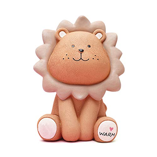 baidercor Resin Yellow Lion Money Box Piggy Bank ()