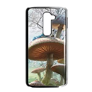 LG G2 Cell Phone Case Black Alice in Wonderland Character Alice 003 CVXEYERTE19326 Protective Plastic Phone Case