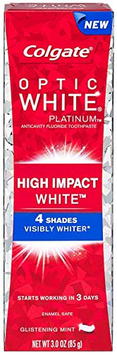 Colgate Optic White Anticavity Flouride Toothpaste