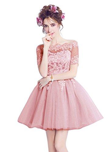 Vimans -  Vestito  - linea ad a - Donna Pink1 46