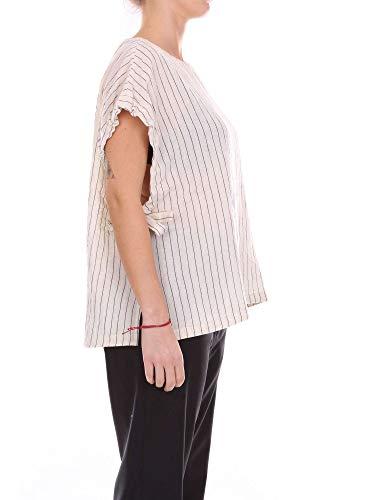 Cotone Donna Bianco Pomandère Top 18192171049014 Tank aU0qI