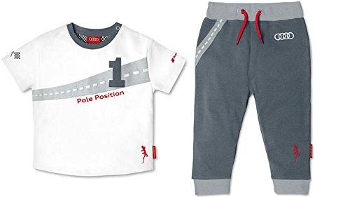 Audi Rutschauto - Audi Baby T-Shirt und Shorts Set - Audi Bobby-Car