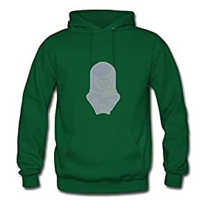 Customizable Vashta Nerada Cotton Women O-neck X-large Hoody Green