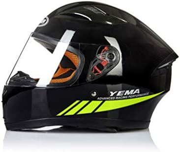 NJ ヘルメット- オートバイのヘルメットの男性と女性の四季ユニバーサルフルカバーのHD防曇のヘルメット (色 : 白, サイズ さいず : 36x25x27cm)