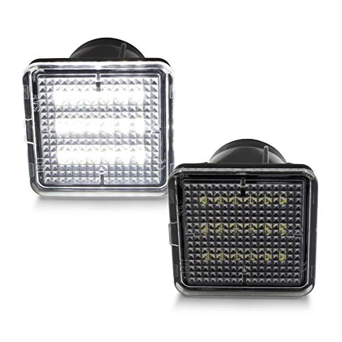 SUBLIME INDUSTRIES Led License Plate Light 6500K Diamond White Lamp Assembly Replacement For 2016-2019 Toyota Tacoma & 2014-2019 Tundra Pickup Truck ()