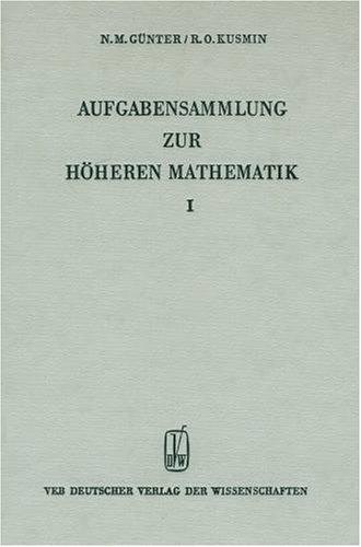Aufgabensammlung zur höheren Mathematik, Bd.2
