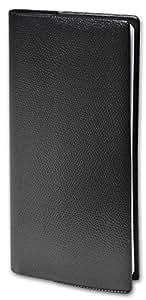 Quo Vadis Bi-Planning Impala–Agenda civil quinzainier 8,8x17cm black Year 2017
