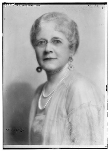 Photo: Mrs. W.B. Hamilton,women,portrait photographs,Bain New - Store Infiniti Locator
