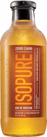 Natures Best Isopure Zero Carb Ready-to-Drink, Icy Orange, 24.4 Pound