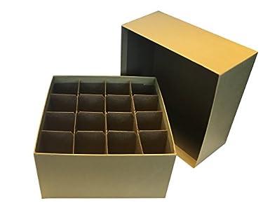 Amazon.com: Caja de cartón con tapa y Cell divisor ...