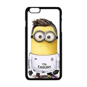 Happy Cute Minions Fashion Comstom Plastic case cover For Iphone 6 Plus