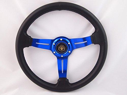 marine steering wheel blue - 9