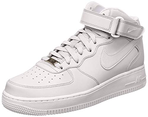 Nike Men's Air Force 1 Mid 07 Basketball Sneakers White Size 13 D (US) (Off White Air Jordan 1 For Sale)