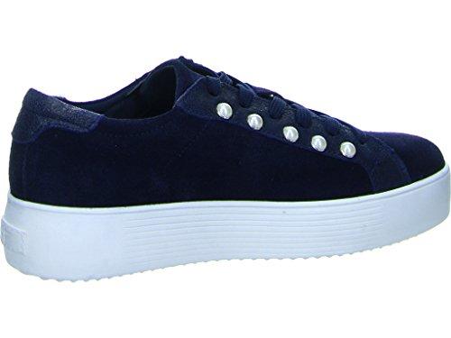 Tamaris Dames 23770 Sneaker Donkerblauw