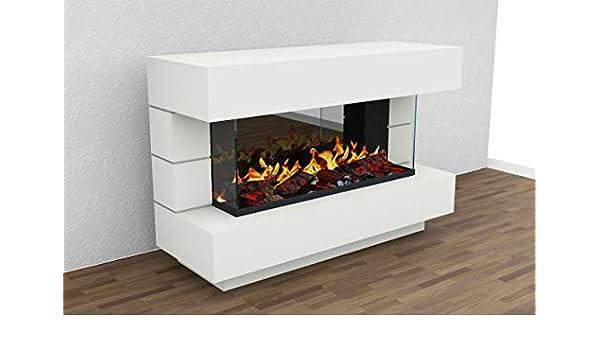 muenkel design London 1400 OPTI-GLO - Chimenea eléctrica (RAL, sin calefacción, Madera Decorativa con somier Recto): Amazon.es: Juguetes y juegos
