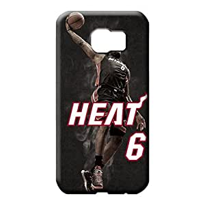 samsung galaxy s6 edge - Shock Absorbing Hot Style Cases Covers For phone phone cases miami heat nba basketball