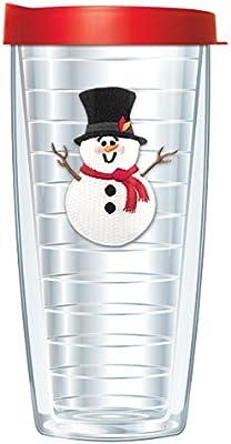 snowfriends sombrero emblema vaso taza con tapa 624 g transparente ...
