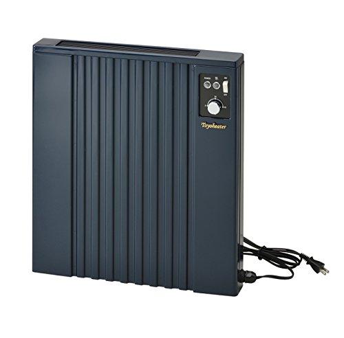 トヨトミ 壁掛け電気パネルヒーター コンセント付 過熱防止サーモスタット内蔵 消費電力:500W ネイビー 日本製 EL-500P-A B00ZLFENIO