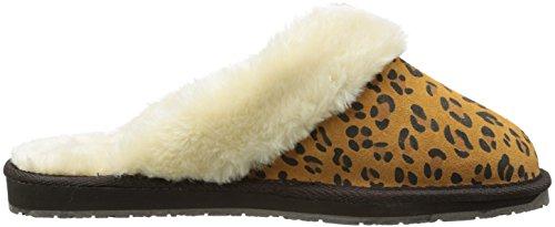 Mulo Leopardo Pantofola Da Donna