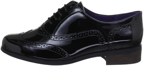Pat Embout Clarks Noir Femme Avec black Chaussures Hamble Oak 78xq81H