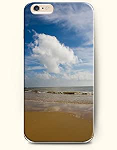iPhone 6 Case 4.7 Inches Sea and Beach - Hard Back Plastic Phone Cover OOFIT Authentic